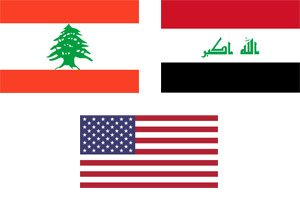 iraq lebanon usa